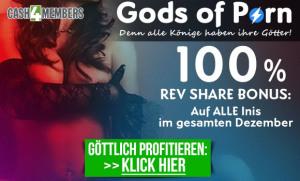 Cash4Members: Gods of Porn Bonus - 100% Revenue Share