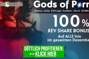 Cash4Members: Gods of Porn Bonus - 100% Revenue Share